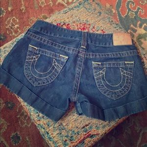 True Religion Denim Shorts 26